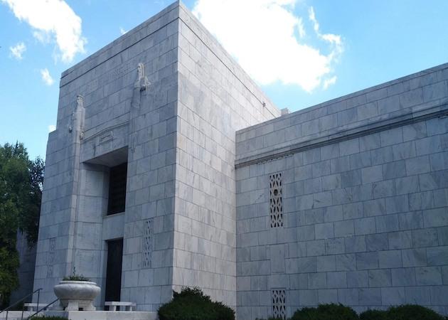 after mausoleum